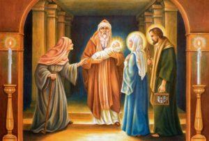 Как произошло Сретение Господне?