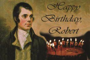 День рождения Роберта Бернса