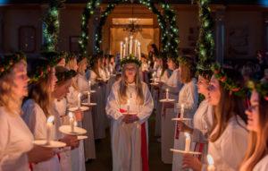 День святой Люции у западных христиан