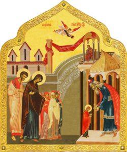 Праздник Введения во храм Пресвятой Богородицы