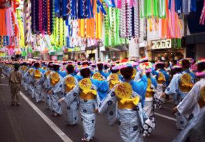Фестиваль Танабата в Японии